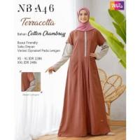 Original GAMIS NIBRAS NB A46 TERRACOTTA KHAKI Cotton Chambray