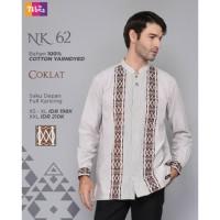 Original KOKO PREMIUM NIBRAS NK 62 COKLAT HITAM NAVY Cotton Yarndyed