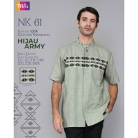Original KOKO PREMIUM NIBRAS NK 61 HIJAU ARMY MAROON Cotton Yarndyed