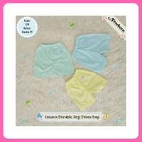 Celana Pendek Bayi Baby Newborn Polos Warna Halus Murah