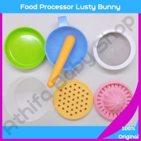 Alat masak makanan bayi mpasi Lusty Bunny Food Maker Processor LB-1374