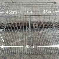 Murahhh... Kandang Baterai/Batray Ayam Petelur 90x45cm