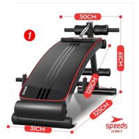 Kursi Fitnes sit up bench press speeds 2 in 1 Papan Situp adjustable