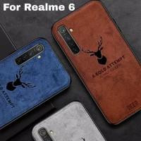 Softcase Realme 6 Deer Cloth