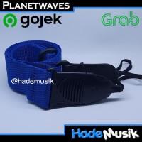 Strap Gitar Akustik Quick Release Daddario Planet Waves Warna Biru