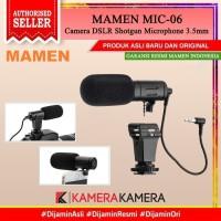 MICROPHONE MAMEN MC-06 Shotgun Vlog Kamera & Smartphone Smule Youtube
