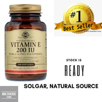 Solgar, Natural Source Vitamin E 200 IU 100 Softgels