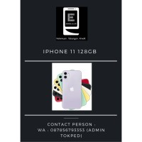 Iphone 11 128GB All Colour New
