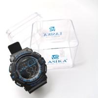 Jam tangan digital Pria Sporty water Resist Lasika 603