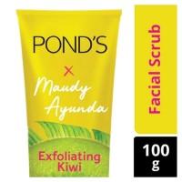 PROMO Pond's x Maudy Exfoliating Kiwi / Watermelon Facial Scrub 100 g
