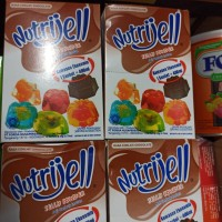 Nutri Jell Coklat JellyPowder 1box 12pc