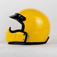 Helm Mouthguard Boulter FG HELMET ONLY - Kuning, M-L