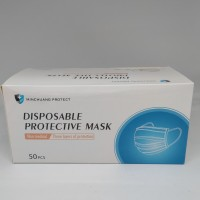 Disposable masker 3 ply earloop isi 50 pcs