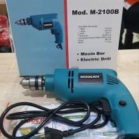 Mesin Bor Tangan Modern M 2100 B 10mm /Mesin Bor Listrik/Impact Drill