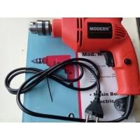 Mesin Bor Tangan 10mm Modern M2100C /Electric Drill / Bor Baja Ringan