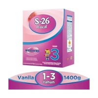 SUSUSEJATI/ S-26 / S26 Procal 3 Regular Vanila 1400 Gram / 1.4 KG Box