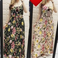 dres maxi kensi 522(scroll) wolpeach plisket imp max ld96 fit to L