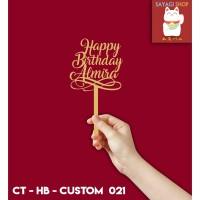 Cake Topper Custom # 021