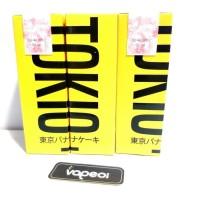 TOKIO - Banana Sponge Cake - 60ml 3mg Premium Liquid Vape Vaporizer