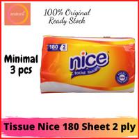 Tissue Nice 180 Sheet 2 Ply - Tisu Nice 180 Serba Guna - Nice 180