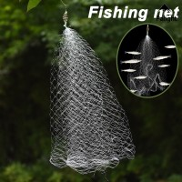 PA• 3pcs Play Stair Design Fishing Mesh Net Safe Nylon Fishing Net