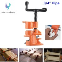 1/2 3/4inch Wood Gluing Pipe Clamp Set Cast Iron Heavy Duty