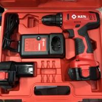 Ken Bor Baterai Cordless 12 Volt Bor Portable