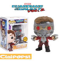 Funko POP Marvel Guardian of The Galaxy Vol 2 - Star Lord Masked Chase