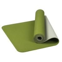 Matras Yoga / Pilates Universal 6mm TPE Anti Slip untuk Olahraga /