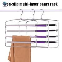 Hanger Pakaian Model Banyak Lapisan, Anti-Selip, Bahan Busa