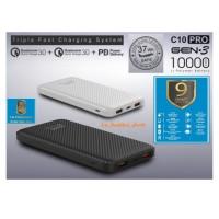 Ready Stok ACMIC C10PRO 10000mAh PowerBank Quick Charge 3.0 + PD