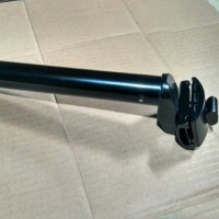 Seatpost Alloy 25.4 Hitam tools n parts