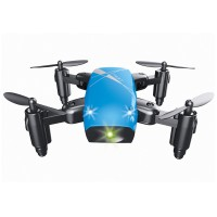S9 RC Helicopter Mini Lipat 2.4G 4 Channel 6-Axis Gyro