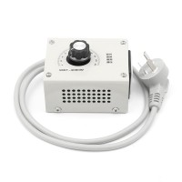 4000W Ac 220V Variable Voltage Controller For Fan Speed Motor