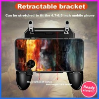 W11+ PUBG Mobile Phone Game Controller Gamepad Joystick Wireless For