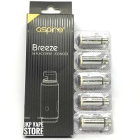 ASPIRE BREEZE REPLACEMENT COIL - AUTHENTIC - CATRIDGE ONLY