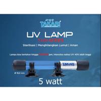 Takari 5 watt Lampu UV Ultra Violet Aquarium Aquascape