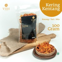 Kering Kentang / Kacang / Teri 100 gram — Sambal Goreng Mustofa - Kentang