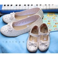 Sepatu anak sepatu wanita couple ibu dan anak pita harga satuan