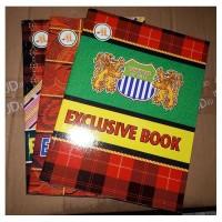 Buku Tulis Kosong 100 lembar / Buku Sekolah Tebal /Buku Tulis Bergaris