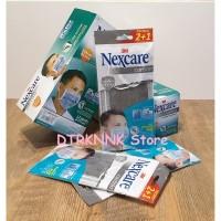 3M Nexcare Masker kesehatan 4 Ply Filtrasi Extra Carbon Active (3pcs)
