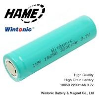 WINTONIC Baterai 18650 INR 3.7V 2200mAh Flat Top - Multi-Color