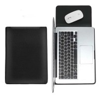 Tas Laptop Softcase Sleeve Slim PU Leather 13 inch - hitam
