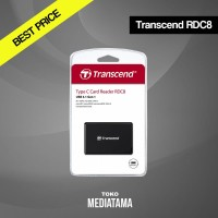 Transcend Card Reader RDC8 All-in-1 Multi USB 3.0 Type C