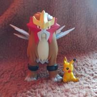 Pokemon figure Entei Vinyl Dx BIG SIZE cocok tuk figma moncolle TCG