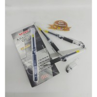Pulpen Kenko KE-200 Magic Gel 0.5 Black - Isi 12