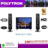 TV LED POLYTRON 32T7511 USB MOVIE + SPEAKER TOWER