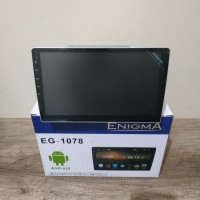 Head unit android enigma eg1078 - double din android 10 inch - up down