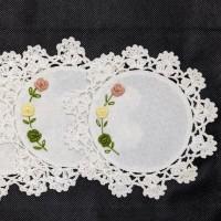 Lace Coaster / Tatakan Gelas Renda