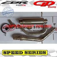 knalpot cld honda all new cbr 150r facelift original type speed series